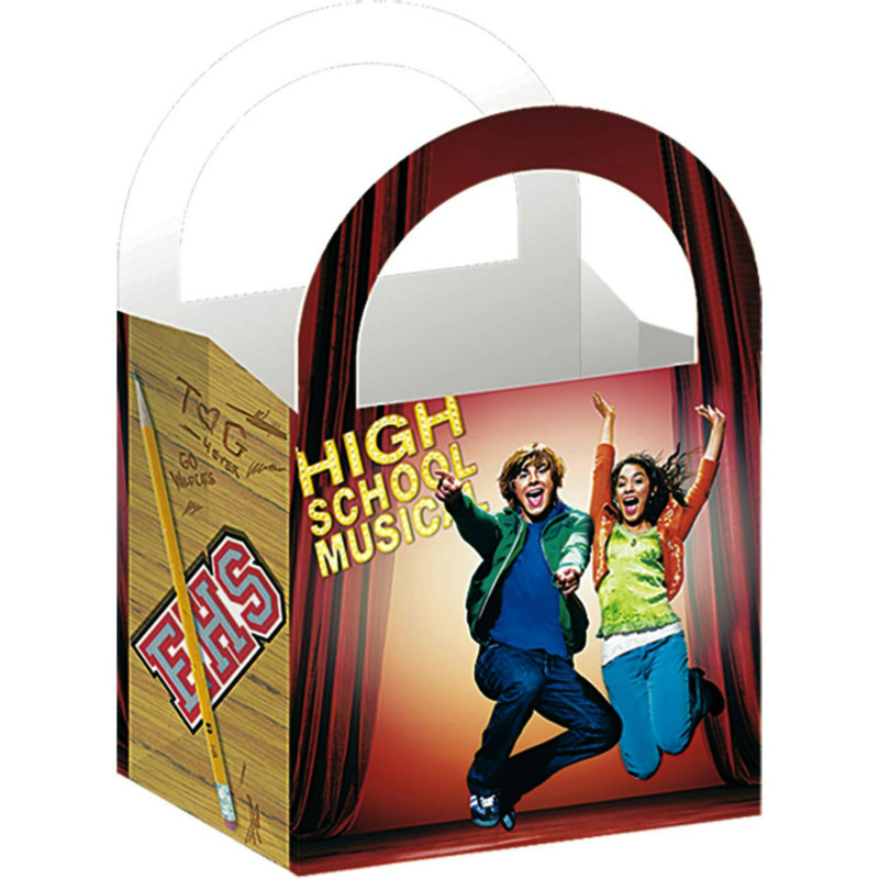 High School Musical Treat Boxes (4 count)