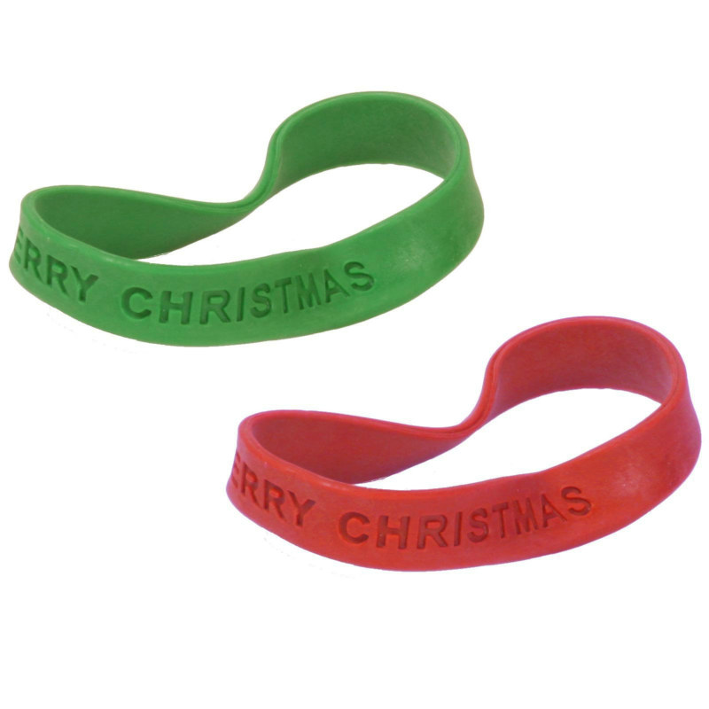 Christmas Bracelets Assorted (12 count)