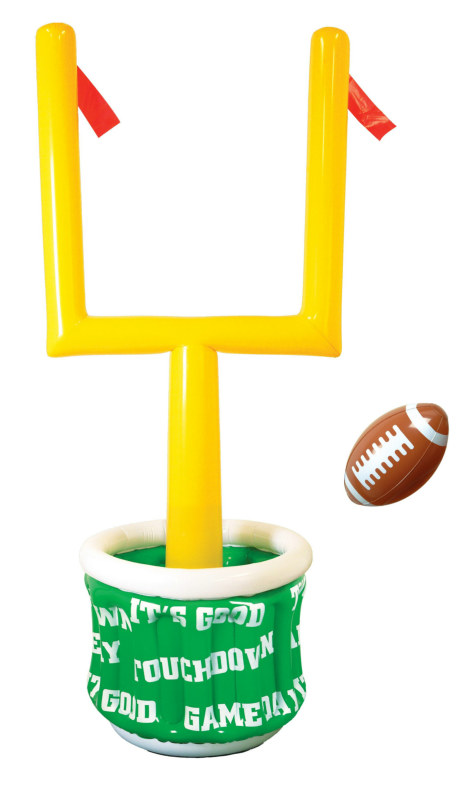 6' Inflatable Goal Post Cooler with Football