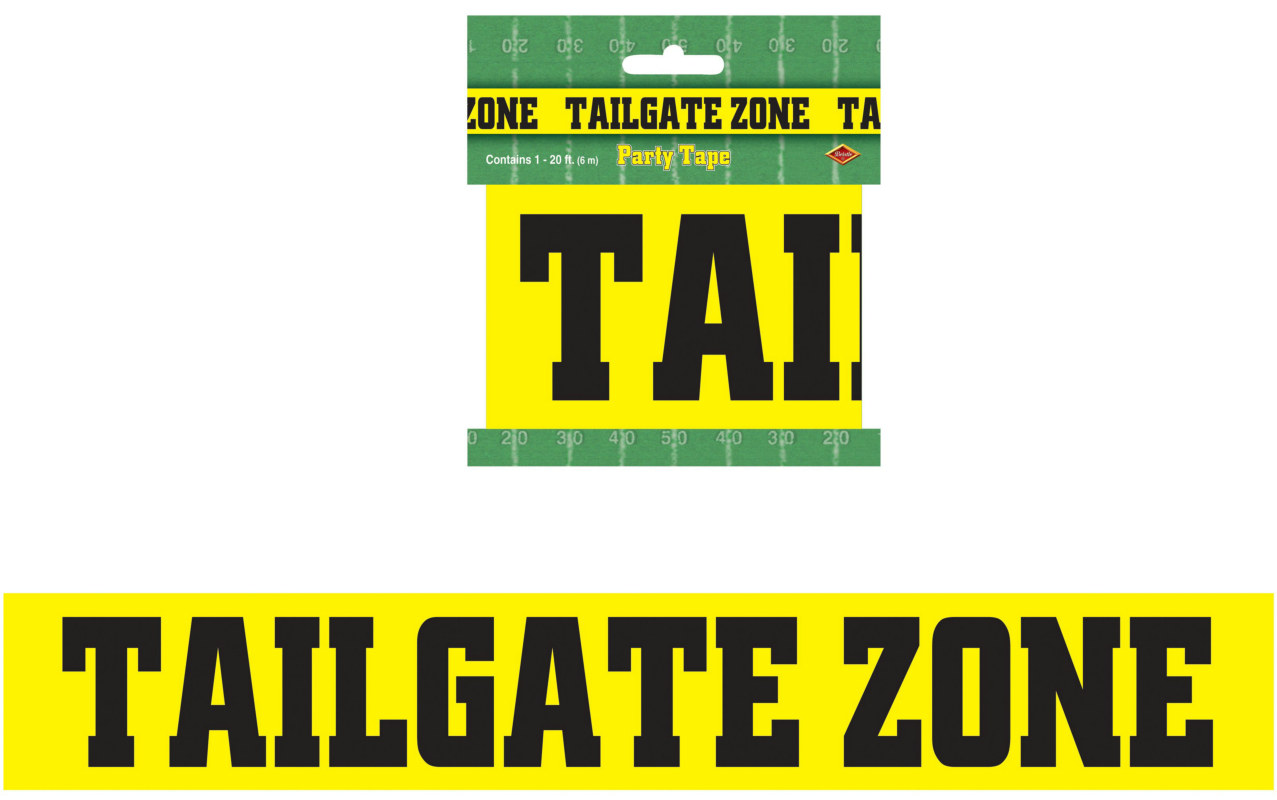 Tailgate Zone Party Tape - 20'