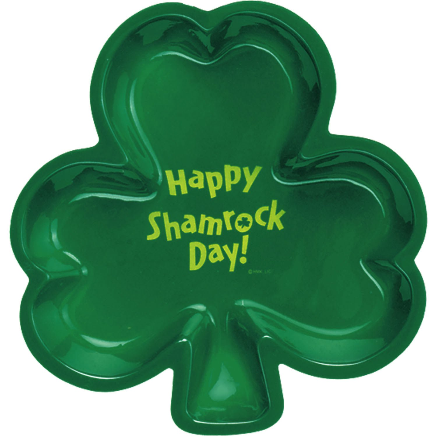 Large Shamrock Shaped Tray