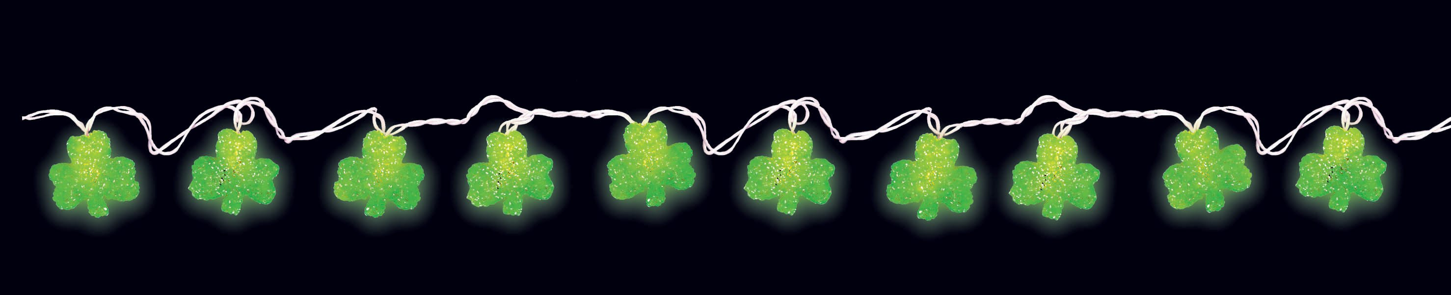 8' Shamrock Light Set (10 lights)