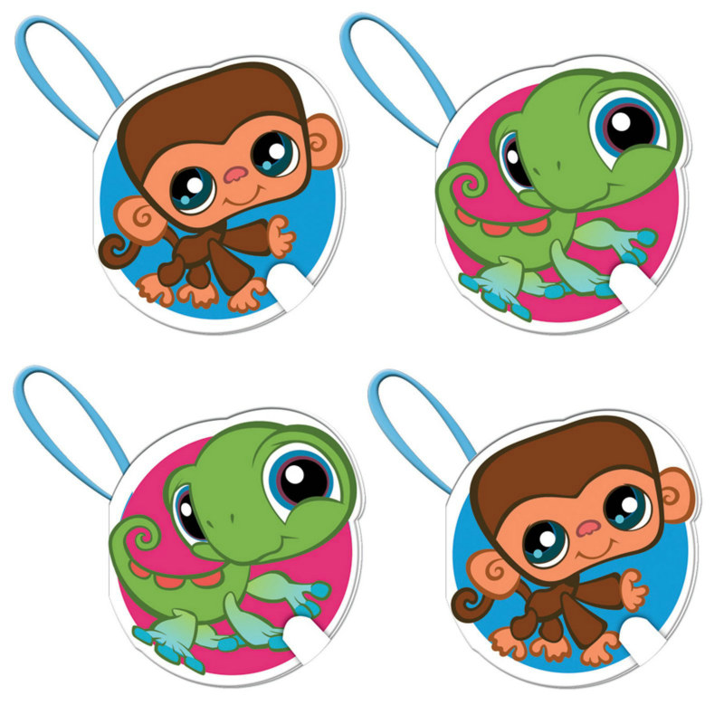 Littlest Pet Shop Notepads Asst. (4 count)