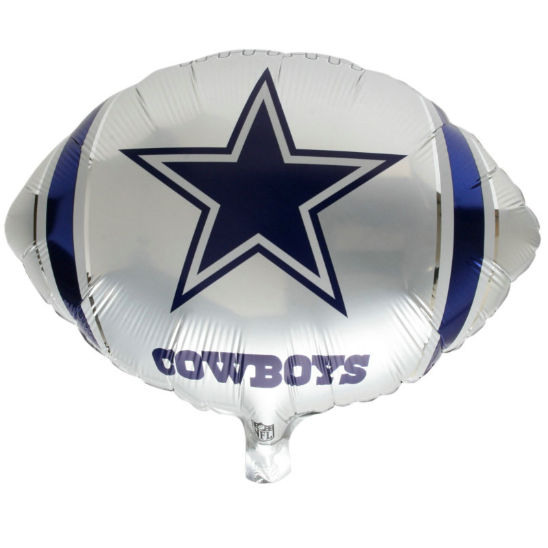 "Dallas Cowboys 18"" Foil Balloon"