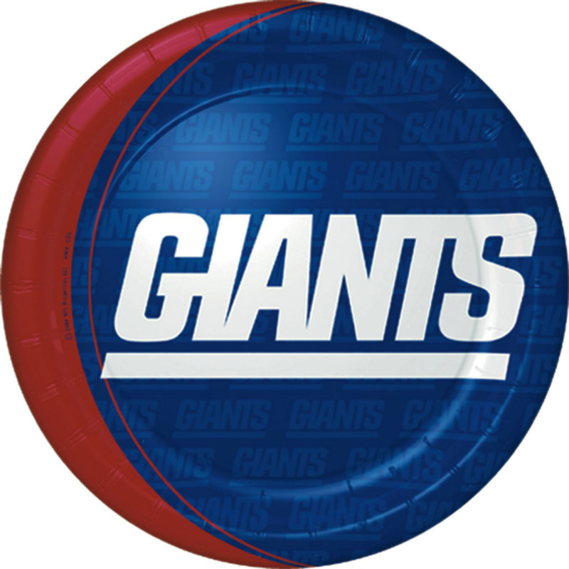 New York Giants Dinner Plates (8 count)
