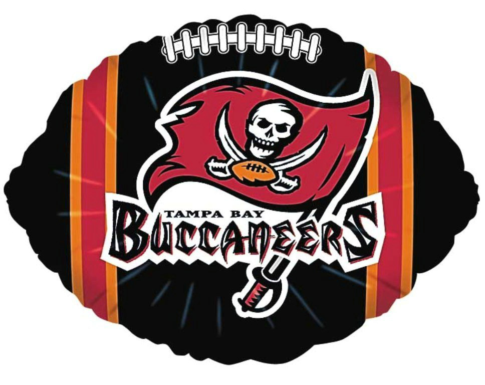 "Tampa Bay Buccaneers 18"" Foil Balloon"