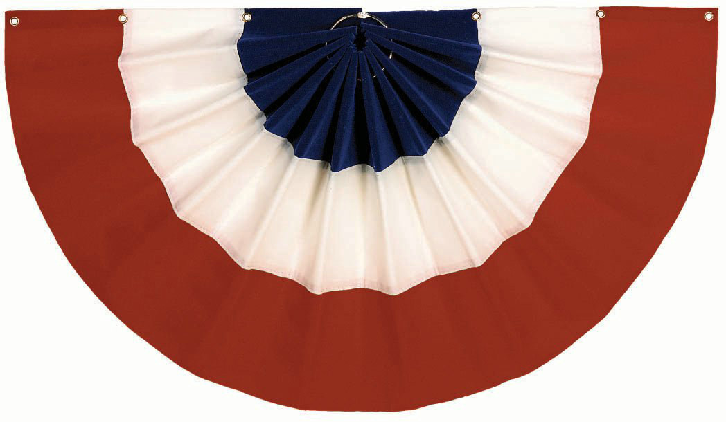 "Red, White and Blue Bunting (24"" x 48"")"