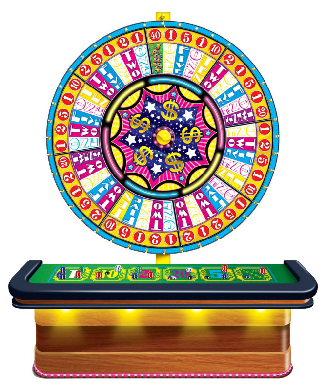 5' Wheel of Fortune Casino Prop Add-On
