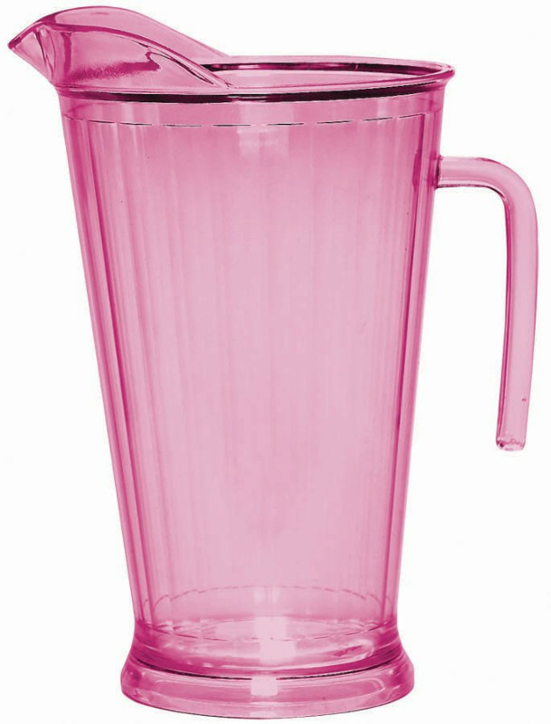 Hot Pink 64 oz. Plastic Pitcher