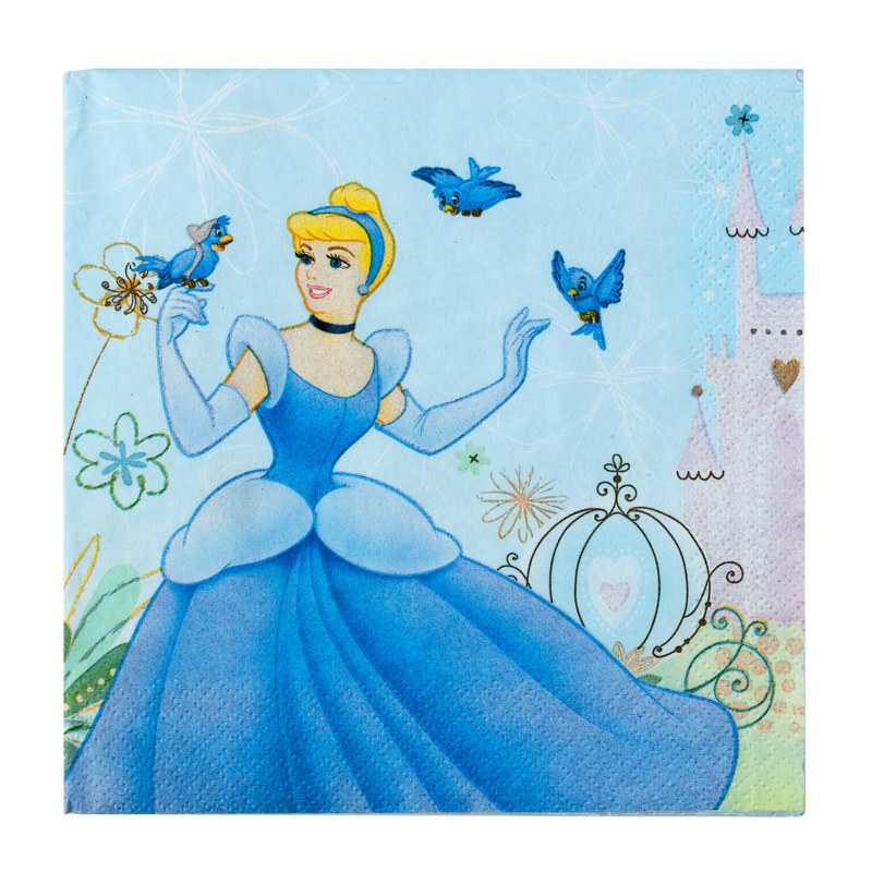 Cinderella Dreamland Lunch Napkins (16 count)