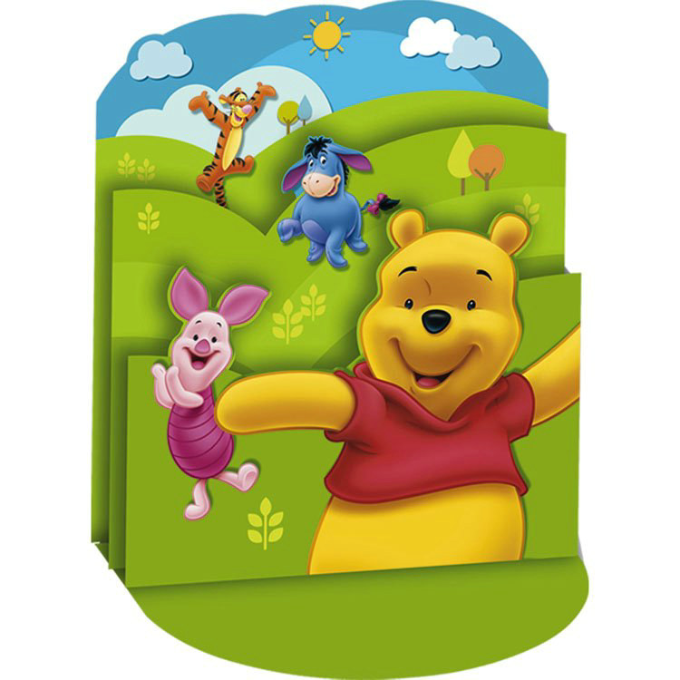 Pooh and Friends Centerpiece