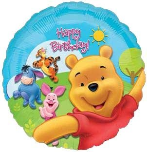 "Pooh and Friends Sunny Days 18"" Foil Balloon"