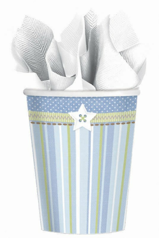 Carter's Baby Boy 9 oz. Paper Cups (8 count)