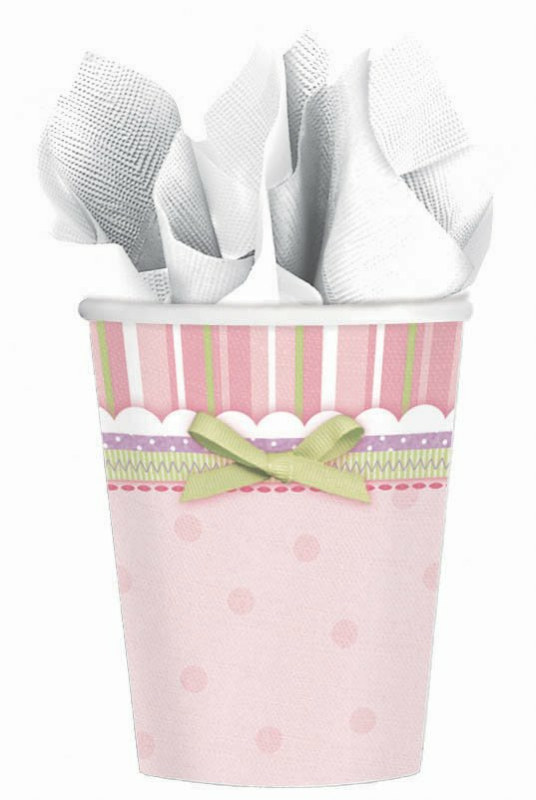 Carter's Baby Girl 9 oz. Paper Cups (8 count)