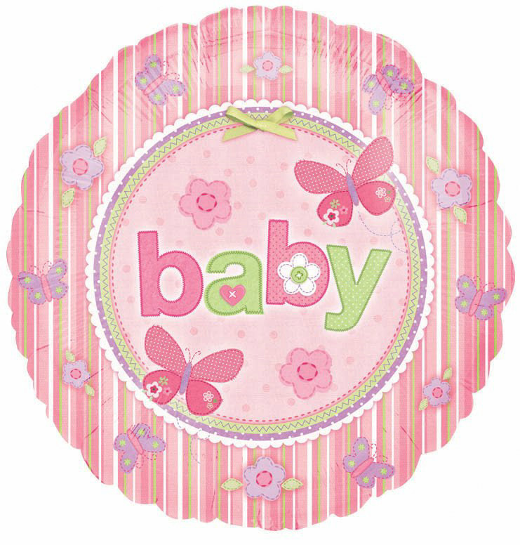 "Carter's Baby Girl 18"" Foil Balloon"