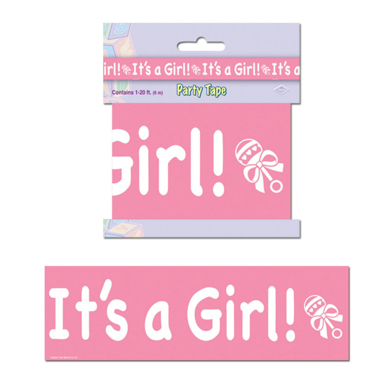 20' It's A Girl Party Tape