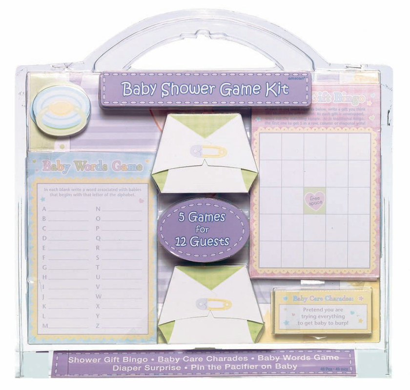 Baby Shower 5 Game Set