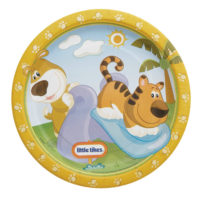 Little Tikes Dinner Plates (8 count)