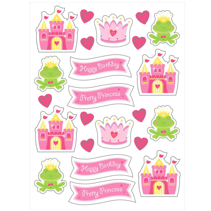 Fairytale Princess Stickers (4 count)
