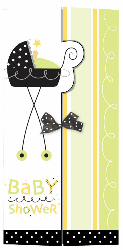 Stroller Fun Invitations (25 count)