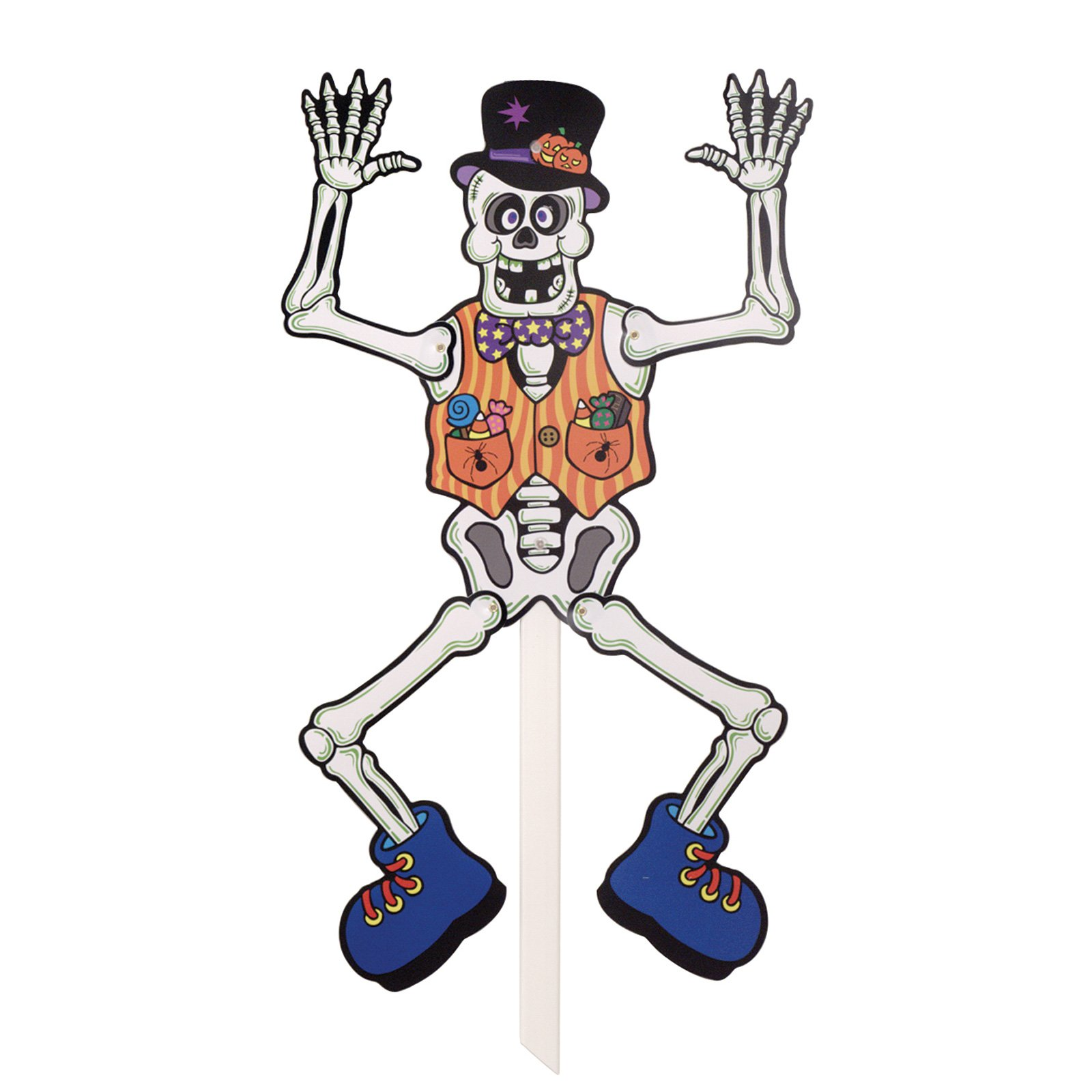 Skeleton Posable Yard Sign
