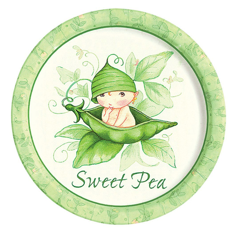 Sweet Pea Dinner Plates (8 count)