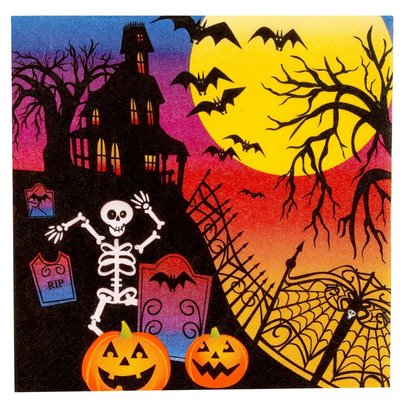 Haunted Hill Lunch Napkins (16 count)