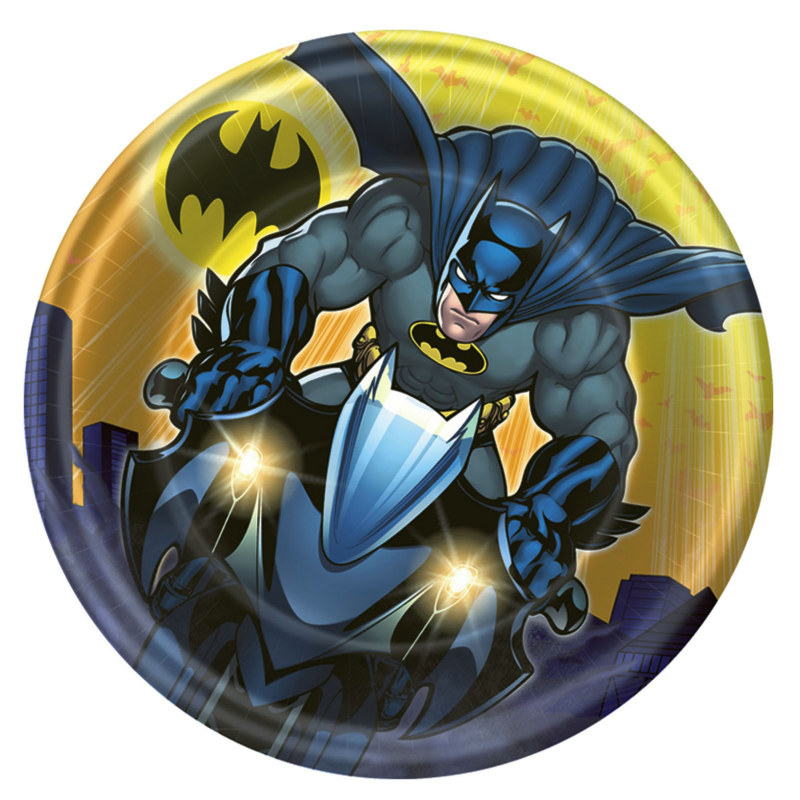 Batman The Dark Knight Dessert Plates (8 count)