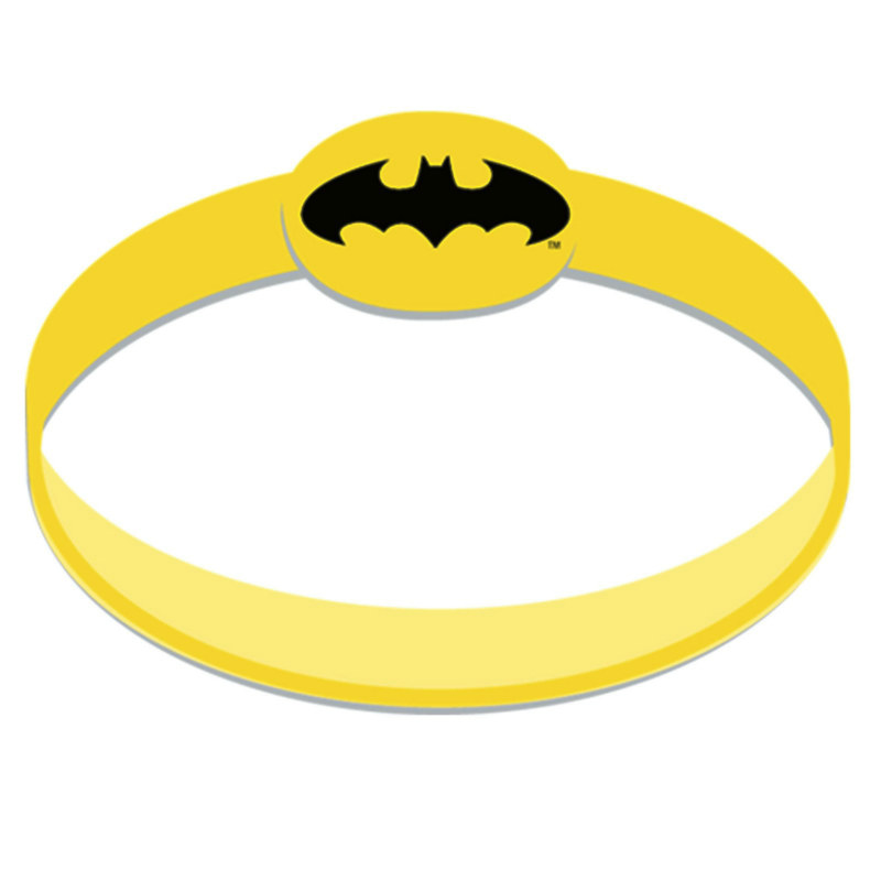 Batman The Dark Knight Wristbands (4 count)
