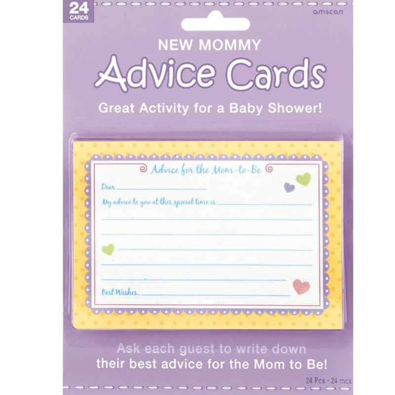 New Mommy Advice Cards (24 count)