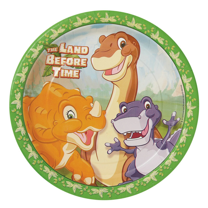 Land Before Time Dinner Plates (8 count)