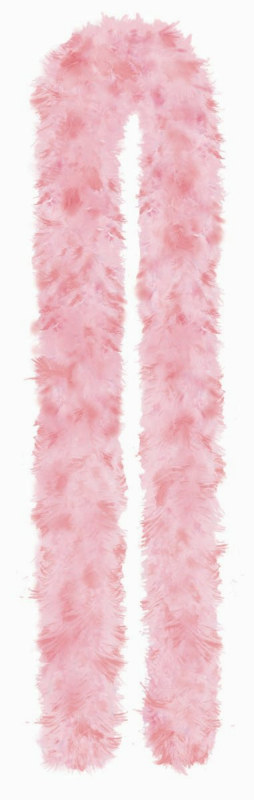 6' Two Tone Pink Feather Boa