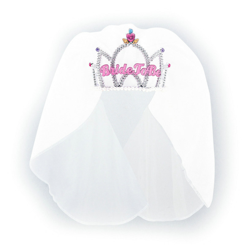 Bride To Be Tiara with Veil