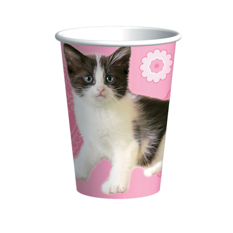 Party Cats 9 oz. Paper Cups (8 count)