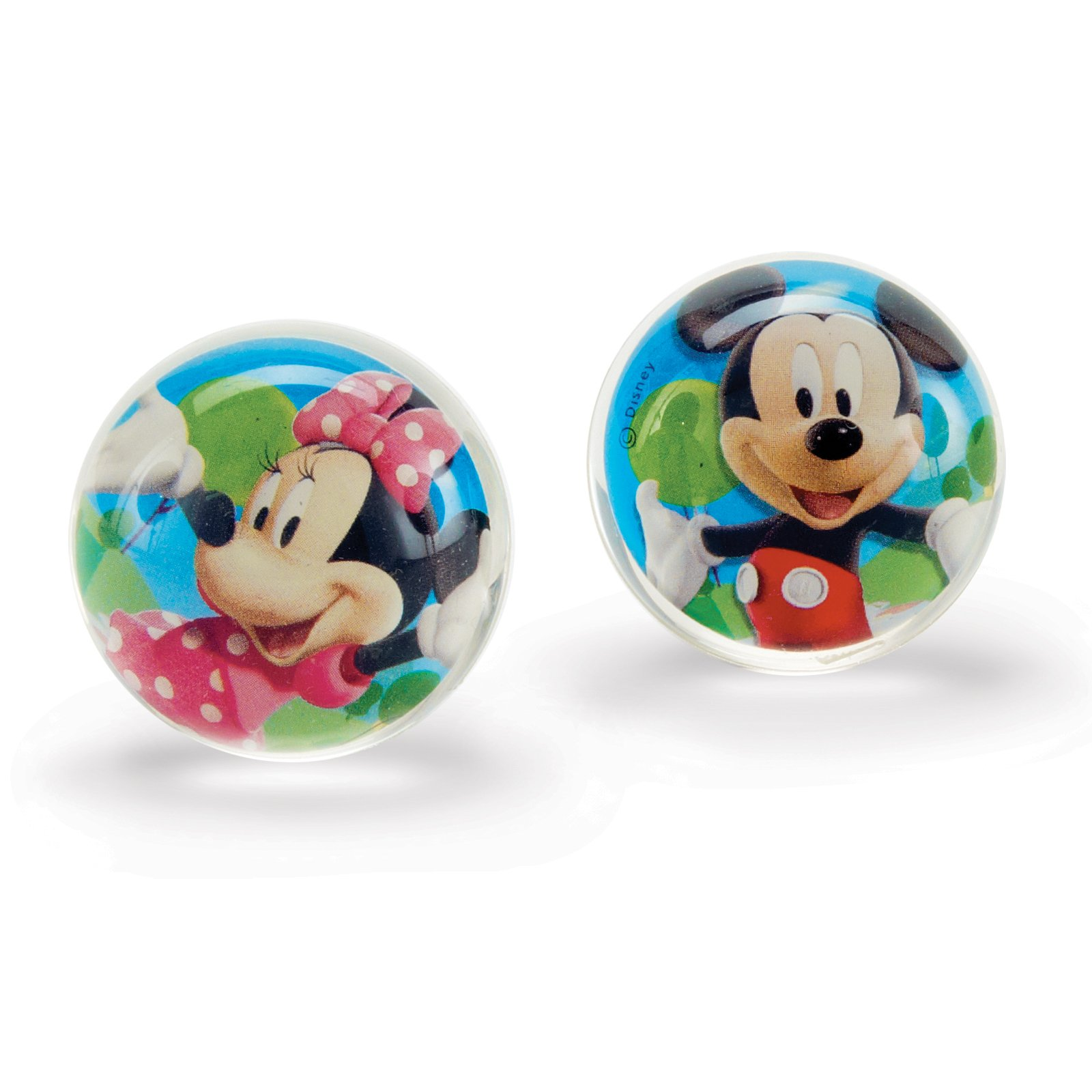 Mickey/Minnie Bounce Balls Asst. (4 count)