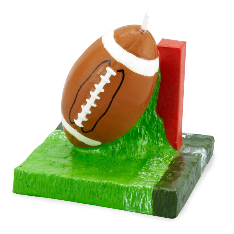 Football Molded Candle