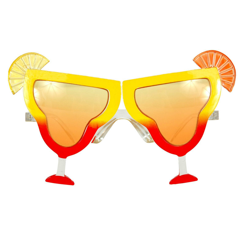 Tequila Sunrise Deluxe Glasses