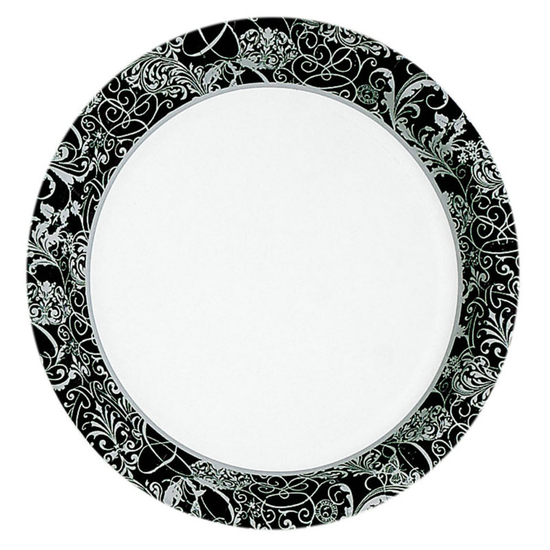 Silhouette Dessert Plates (8 count)