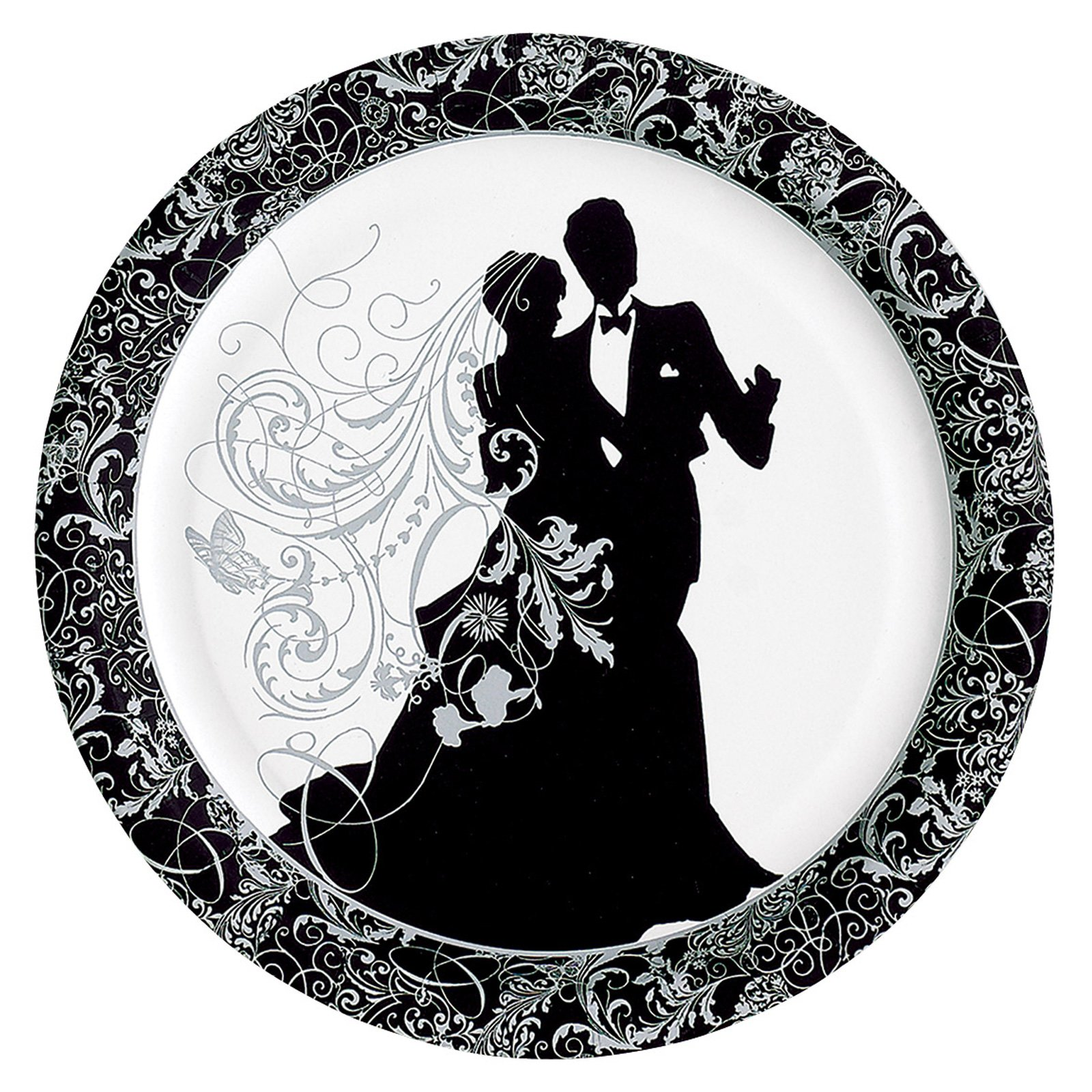 Silhouette Dinner Plates (8 count)