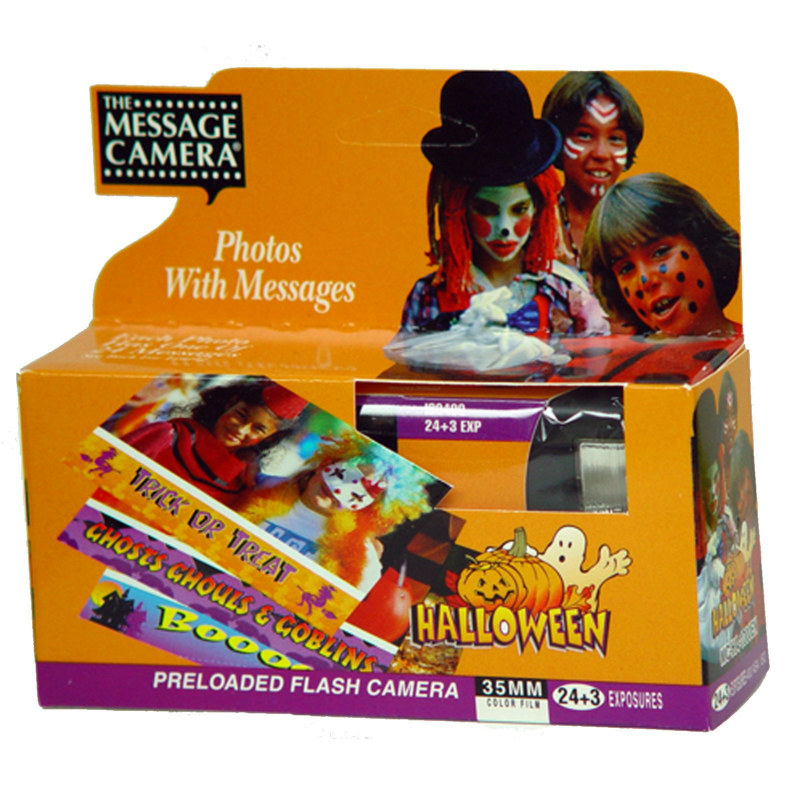 Halloween Message Camera