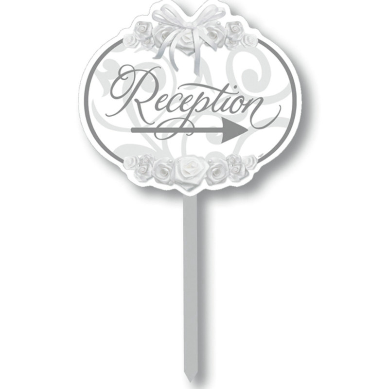 Reception Directional Yard Sign