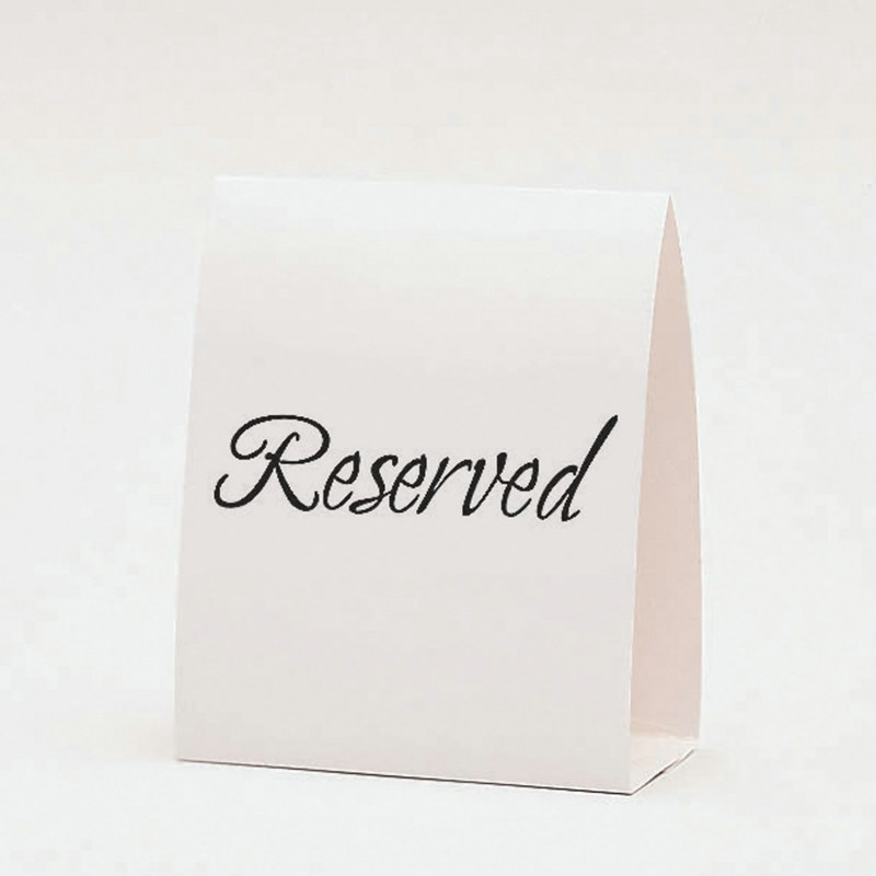 Reserved Table Cards (12 count)
