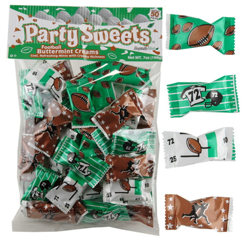 Football Party Mints (7 oz.)