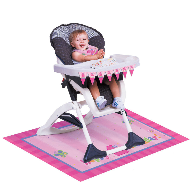 Fun at One - Girl High Chair Decorating Set