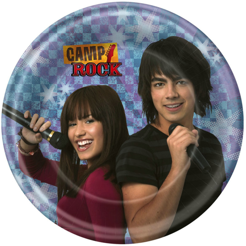 Camp Rock Dessert Plates (8 count)