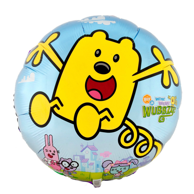 "Wow! Wow! Wubbzy! 18"" Foil Balloon"