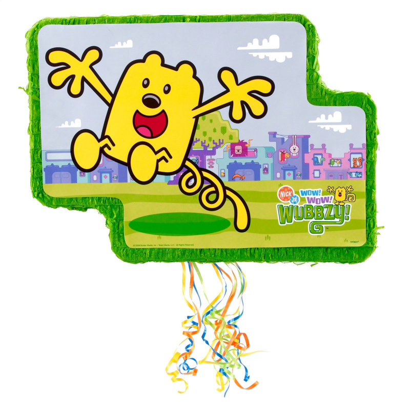 Wow! Wow! Wubbzy! Pop Out Pull String Pinata