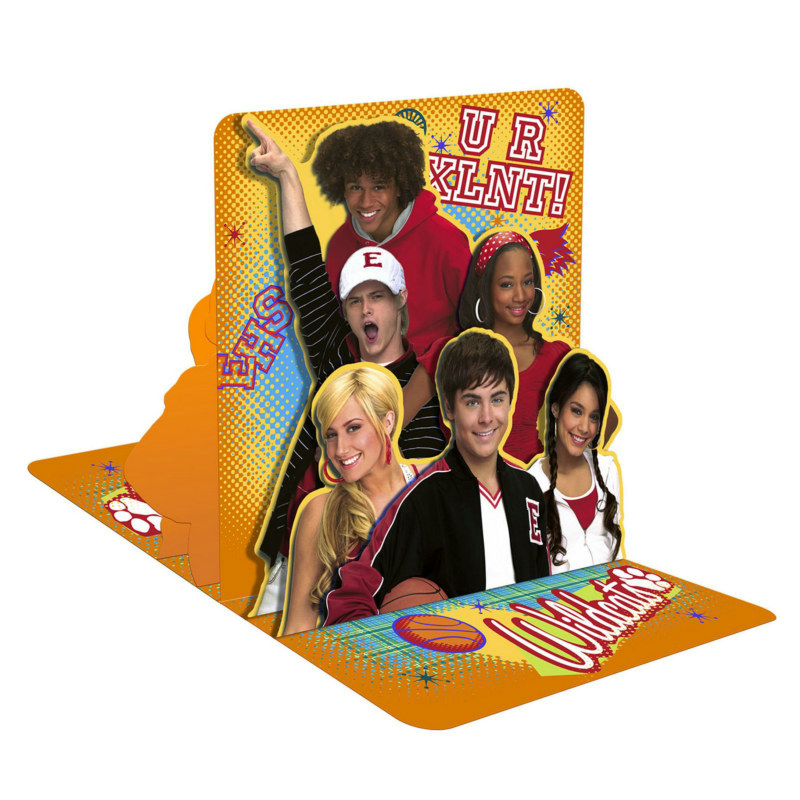 High School Musical: Friends 4 Ever Centerpiece