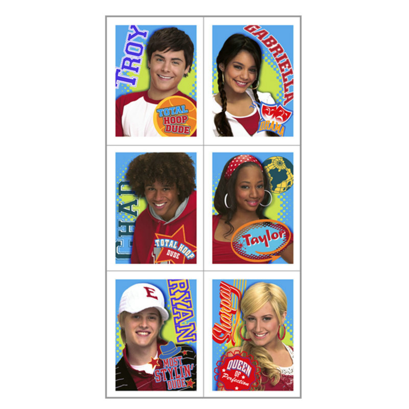High School Musical: Friends 4 Ever Stickers (4 count)