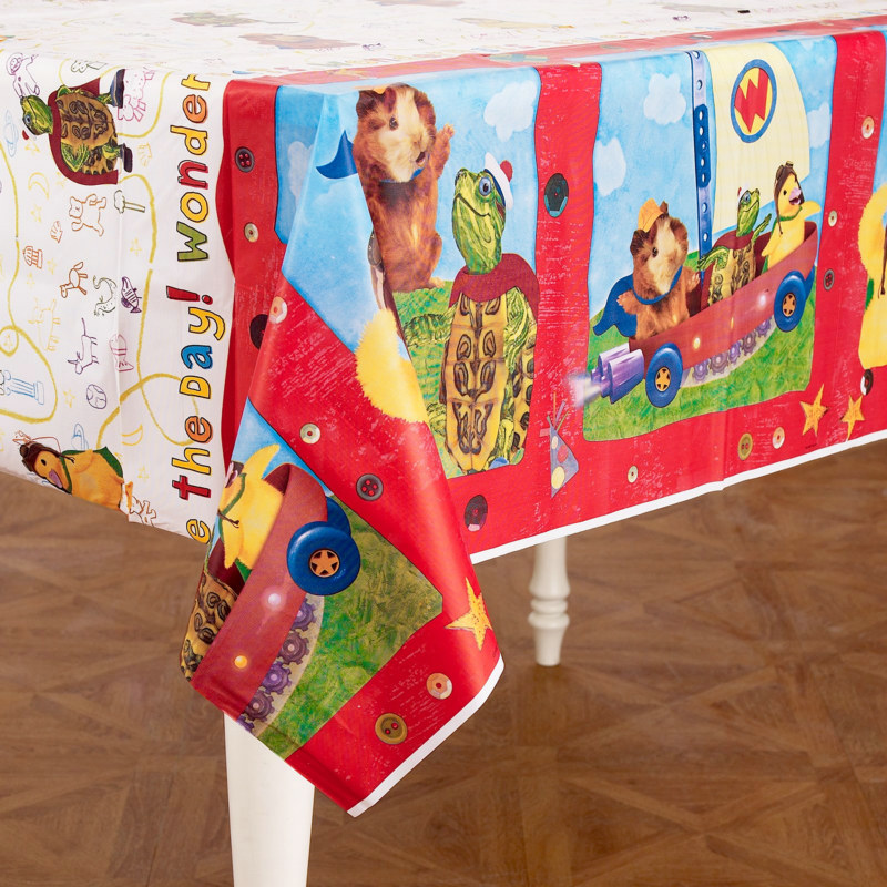 Wonder Pets Plastic Tablecover